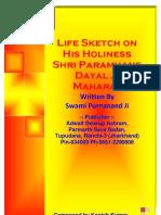 Life Sketch on Shri Paramhans Dayal Ji Maharaj