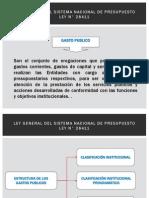 PRESENTACIÓN INGRESOS GASTOS