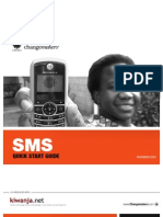 Change Makers SMS Guide