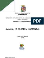 Manual Gestion Ambiental - Gobernacion Sta