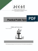 JCCAT Public speaking notes