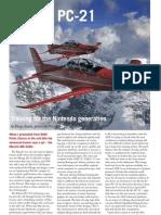 Australian Aviation PC-21 Article
