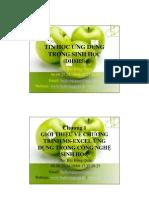 Bài giảng Tin học ứng dụng phiên bản 2007 - 2010