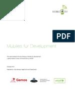 UNICEF Mobiles 4 Dev Report
