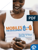 Mobiles for Development - Plan 2009
