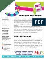 Oct2011 Newsletter