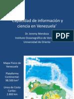 Mendoza - Capacidad de información y ciencia en Venezuela