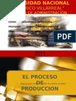 El Proceso de Produccion