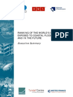OECD Cities Coastal Flooding