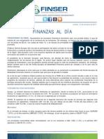 Finanzas al Día - 13.10.11