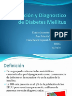 Clasificacion y Diagnostico de Diabetes Mellitus[1]