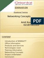 Seminar on Vt 2011 AMIT