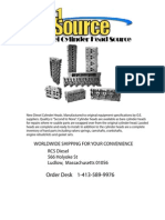 Diesel Engine Cylinder Head Catalogue