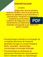 PARODONTOLOGIE-Curs Introductiv an VI