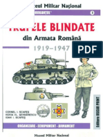 Trupele Blindate Din Armata Romana 1919-1947