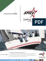 Programas Spica Sailing Team 2011
