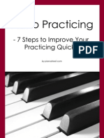 7 Piano Practice Tips