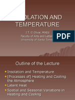 21. INSOLATION AND TEMPERATURE