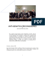 Anti-Senatica by David Arthur Walters