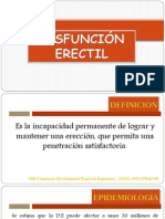 DISFUNCION ERECTIL