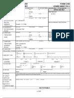 Annise Parker campaign finance form