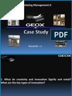 Geox Final Presentation