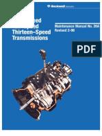 Manual de Servicio Transmisiones Rockwell 9-10 y 13 Marchas.