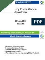 Competency Framework - Recruitment