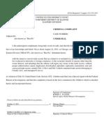 Criminal Complaint Against Yihao Ben Pu