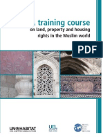 60317689 Land Property and Housing Rights in the Muslim World a Training Course (1)