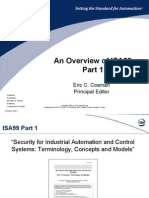 An Overview of ISA99 Part 1