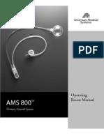 Procedimento Implante AMS 800