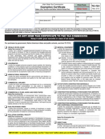 Utah Tax Resale Form