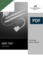 Procedimento Implante AMS 700 CX