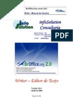 Manual BrOffice.org Writer 2.0