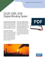6768 D12R D6R D3R Digital Winding Tester