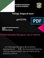 PATOLOGÍA BENIGNA DE LA MAMA Y AUTOEXPLORACIÓN