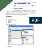Komponen Dasar Visual Basic