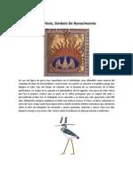 AVE FENIX SIMBOLO DE RENACIMIENTO