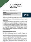 Ambulatory Anesthesia Kids