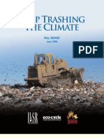 Stop Trashing the Climate - Full Report