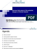 Become Fully Aware of the Potential Dangers of Activex Attacks