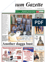 Platinum Gazette 14 October 2011