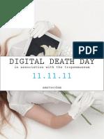Digital Death Day Invite