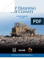 Stop Trashing the Climate Executive Summary