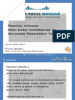 Frontal Attacks-from Basic Compromise to Advanced Persistent Threat