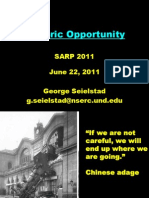 Historic Opportunity SARP
