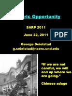 Historic Opportunity SARP