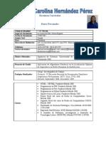Curriculum de Maryury Hernandez ACTUAL
