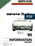Porsche 944 DME Diagnostic Flowchart | Ignition System